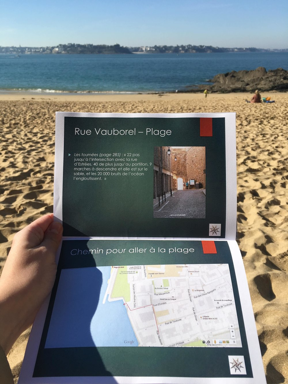 The All the Light We Cannot See guide provided by the tourism office in Saint-Malo