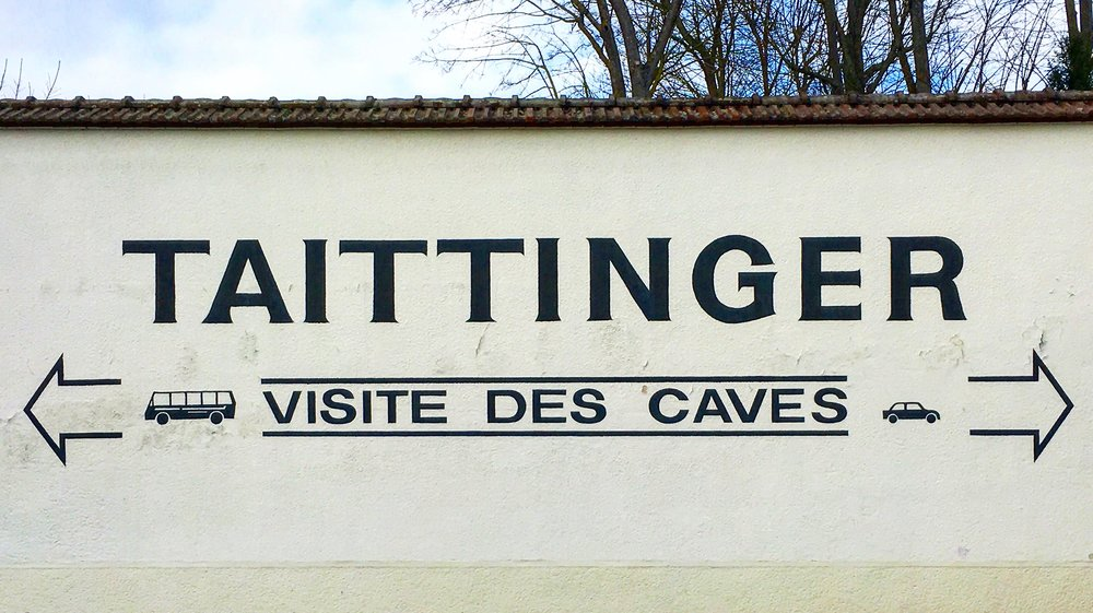 Maison de Champagne Taittinger  in Reims
