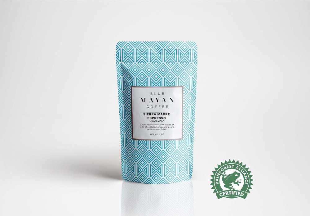 Sierra Madre Espresso:  A full body coffee, with notes of milk chocolate, herbs, and pears, with a clean finish.