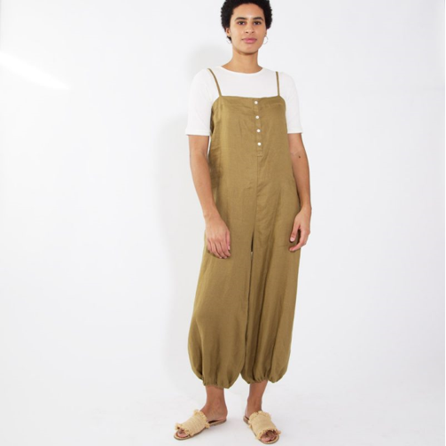 Button-Up Balloon Pant Jumper   Hackwith Design House $225.00