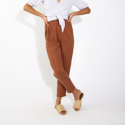 HDH Basics: Easy Tapered Pant   Hackwith Design House $160.00