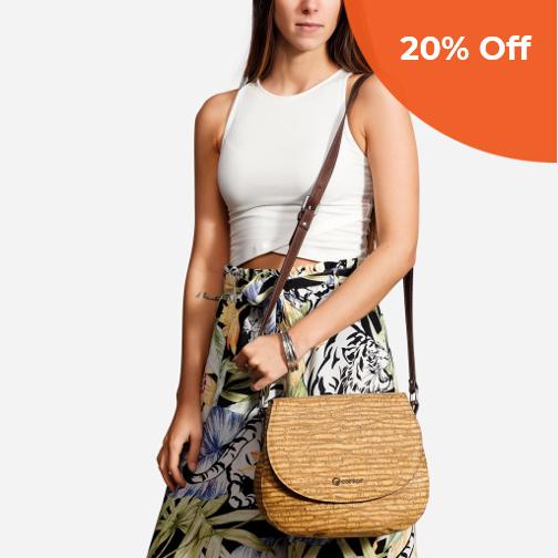 Saddle Bag   Corkor $144.50   Save 20% off orders over $100  with promo code: corkordonegood20