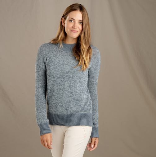 Recycled Denim Pullover Sweater   Toad&Co $90.00