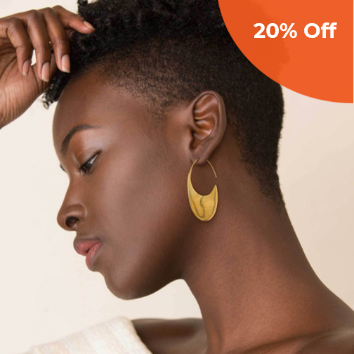 Mezi Drama Threader Earrings   INDIGENOUS $64.00   Save 20% off your order  with promo code: DoneGood