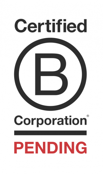 We are BCorp Pending. -