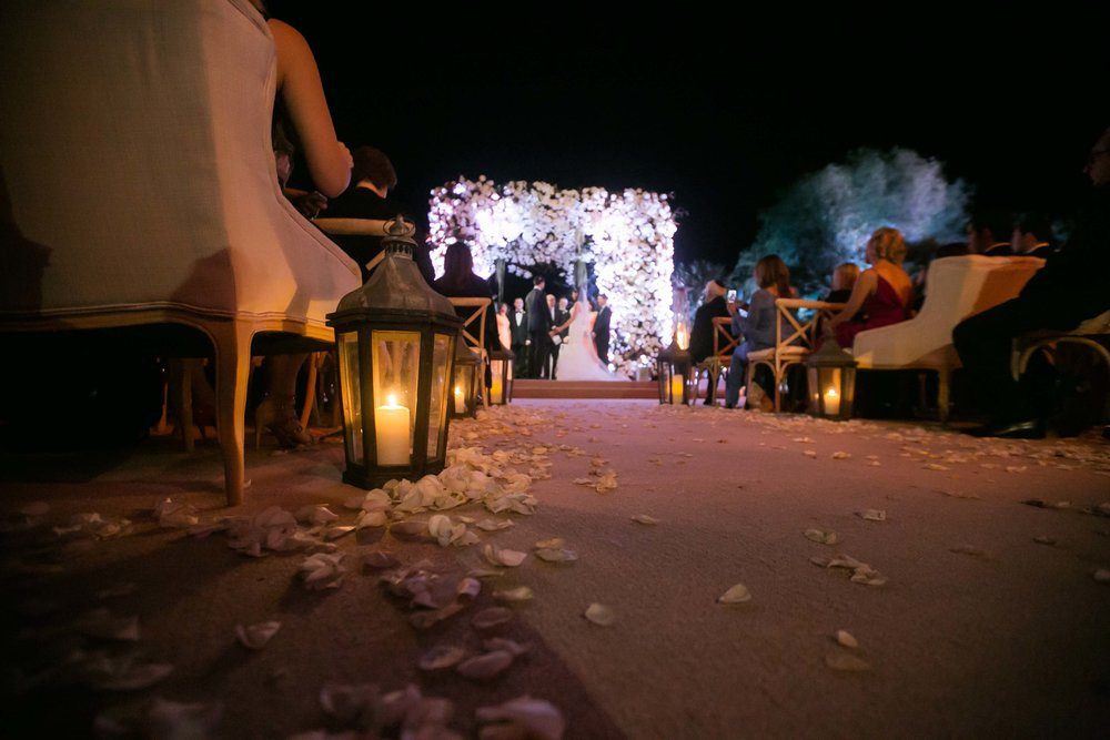 Desert WEdding Ceremony -