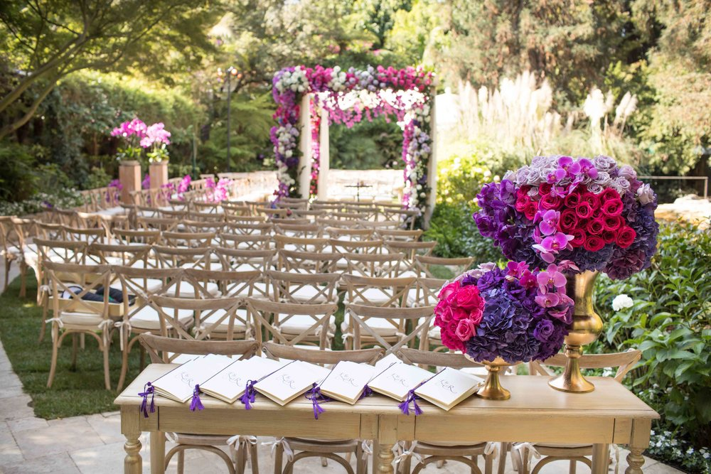 Bel Air Hotel Wedding -