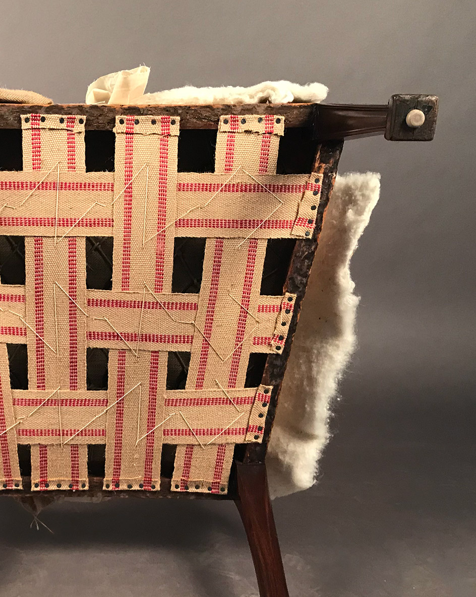 Traditional webbing application