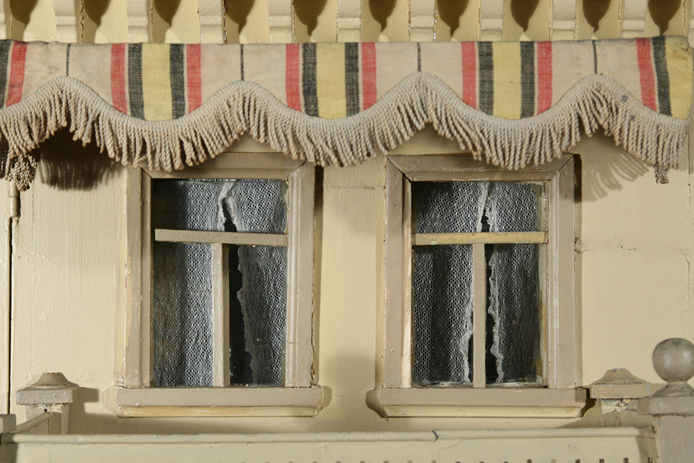 Photo:  Dollhouse detail after restoration
