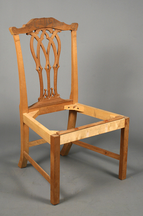 Chippendale chair prototype