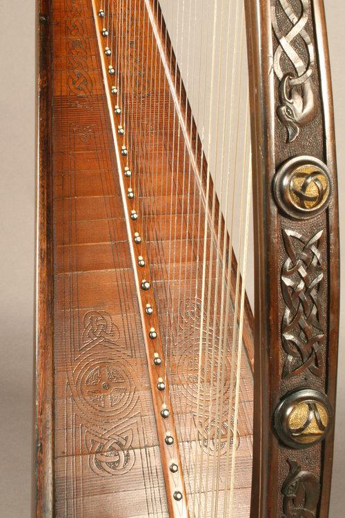 McFall harp detail