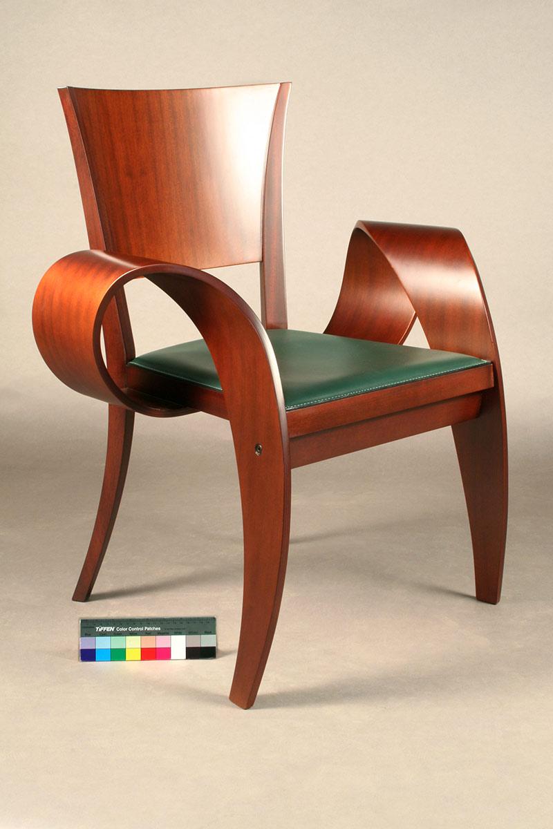"""Patty Diffusa"" chair restored by Bernacki & Associates, Inc."