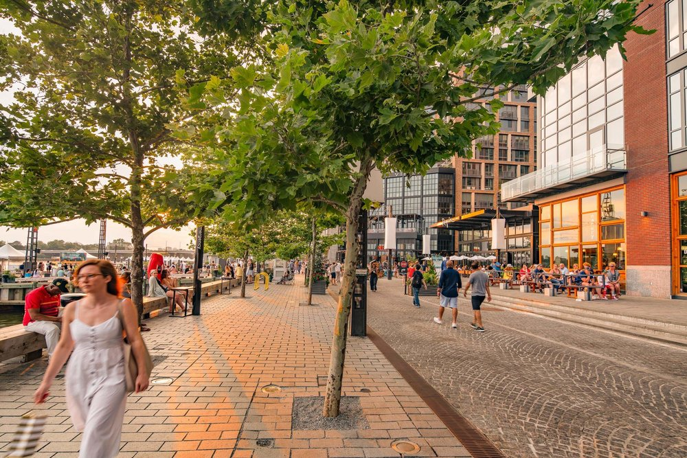 District Wharf Promenade
