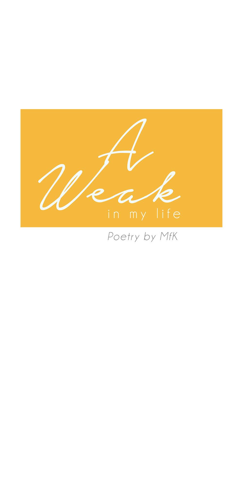A weak in wy life cover.jpg