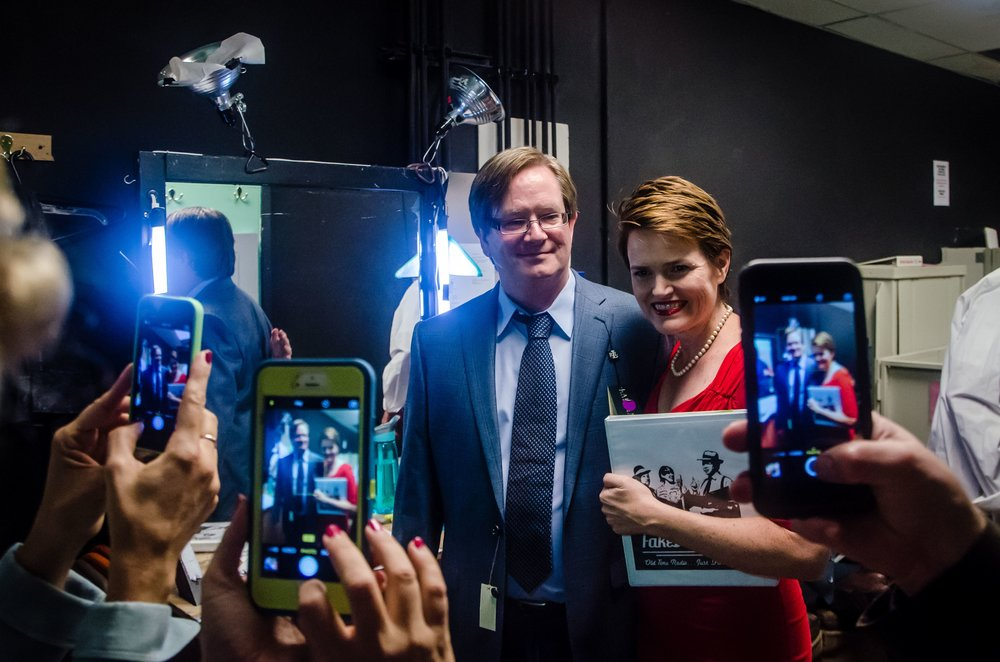 "Backstage fun with Mark McKinney from ""The Kids in the Hall"" and ""Superstore"""