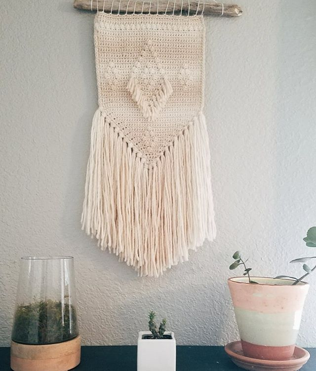 springtime feels 🌻🌱🌹🌻 . only ONE of these beauties left! . if you've been eyeing it head to the link in my bio & #treatyoself before it's gone! . . . . . #spring #decor #homedecor #wallhanging #handmade #makerlife #alpaca #merino #wool #natural #naturalfiber #naturalmaterials #bohome #bohostyle #alpacalove #yarnlove #yarnwallhanging #bossbabe #fiberart #fiberartist #fibreart #fibreartist #wacotown #ourmakerlife #makersgonnamake #hyggehome #homey #homely #entrepreneur
