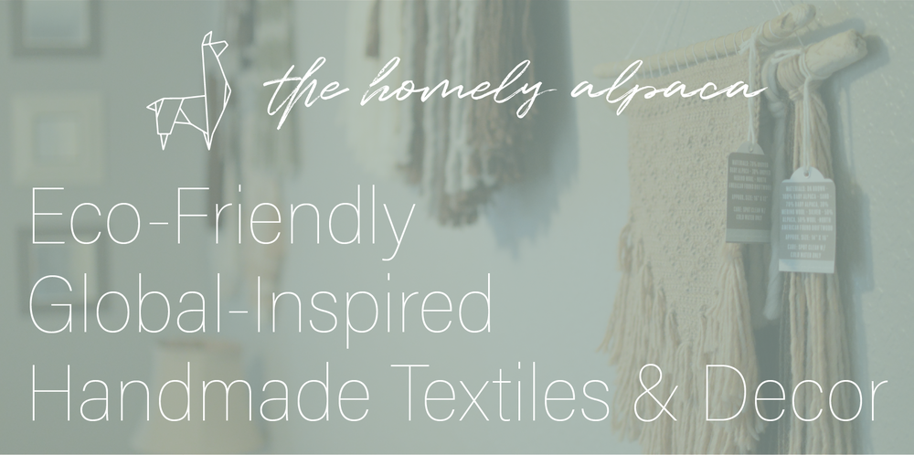 The Homely Alpaca - eco-friendly, global-inspired, handmade textiles & decor