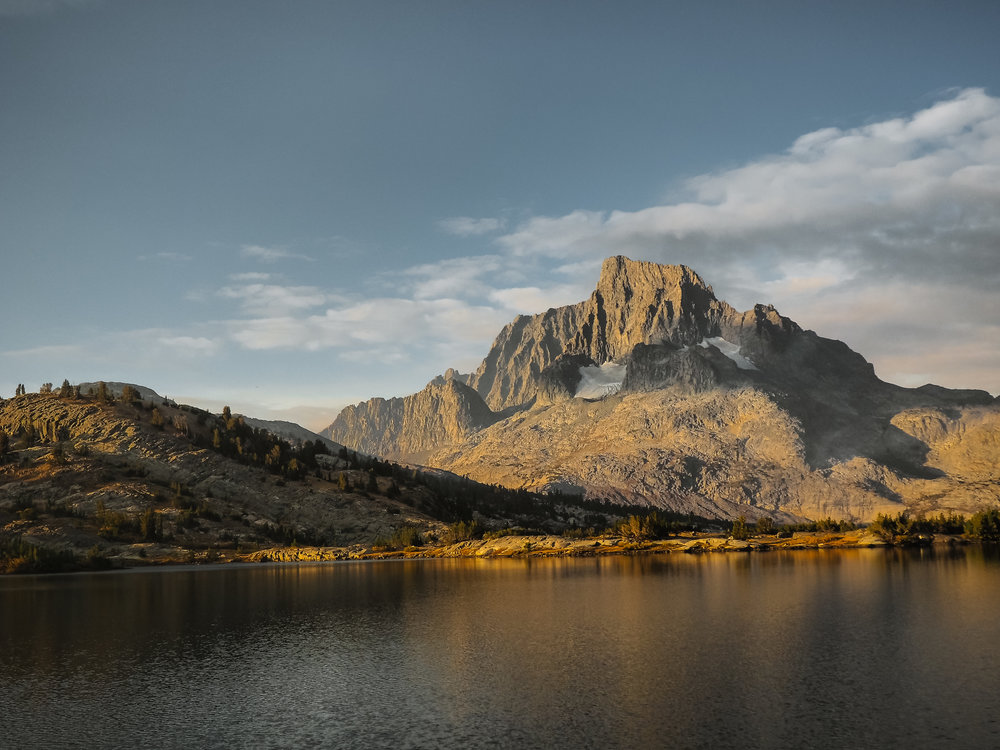 Thousand Island Lake and Banner Peak