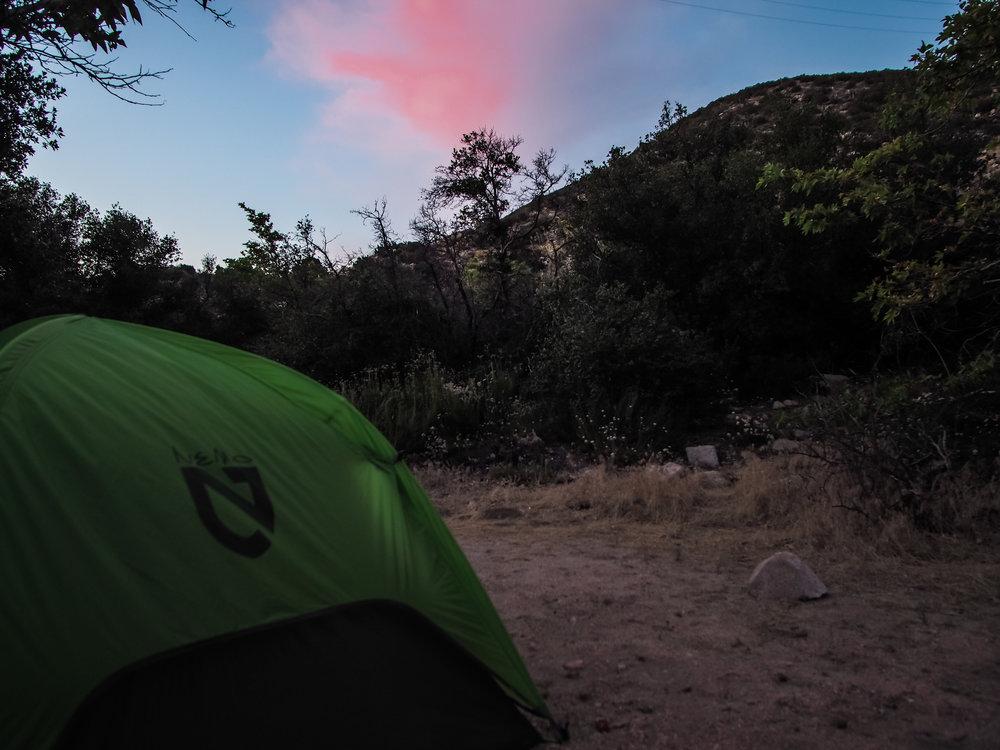 Camping near Deep Creek
