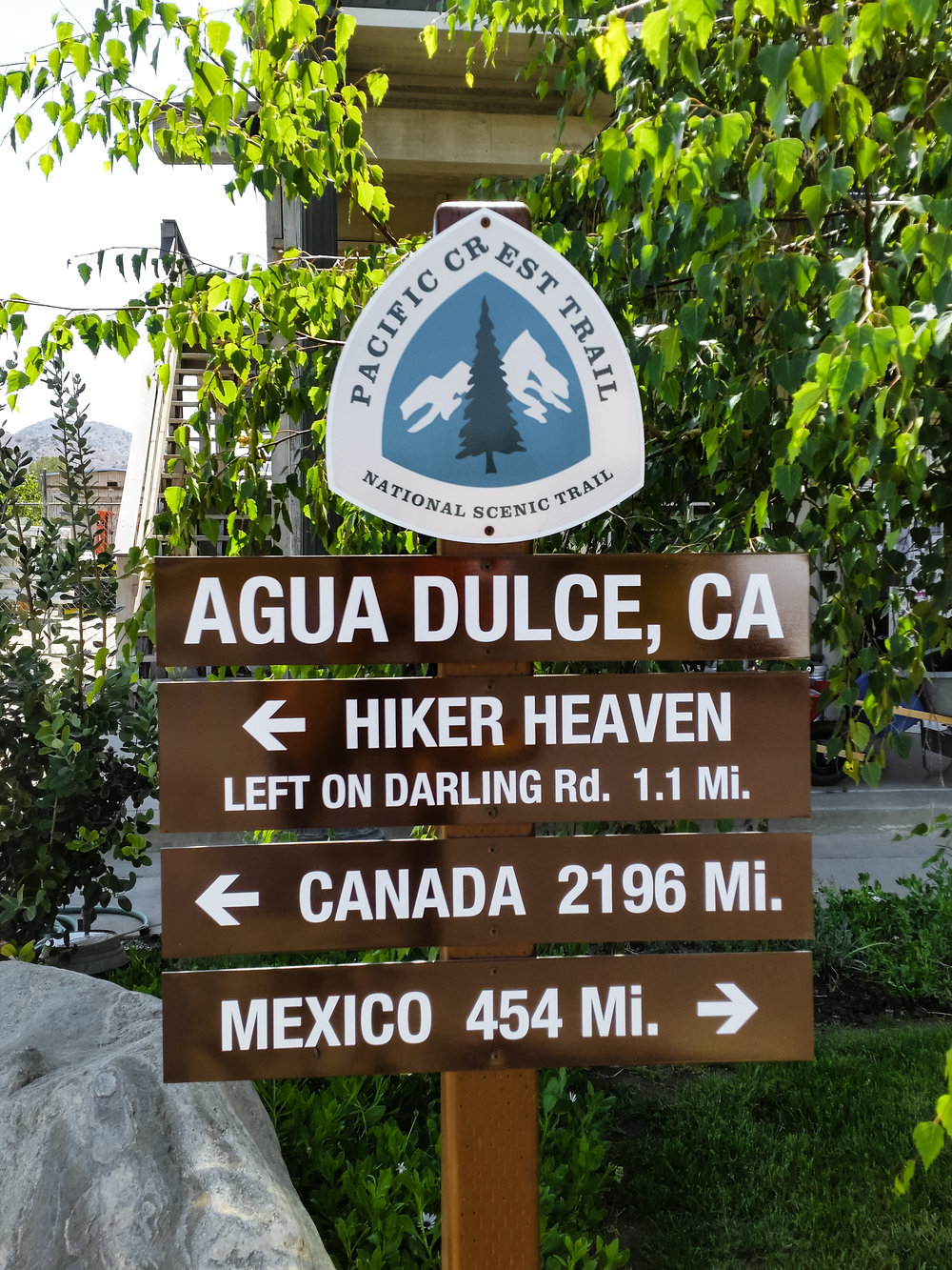 Made it to Agua Dulce and reunited with friends
