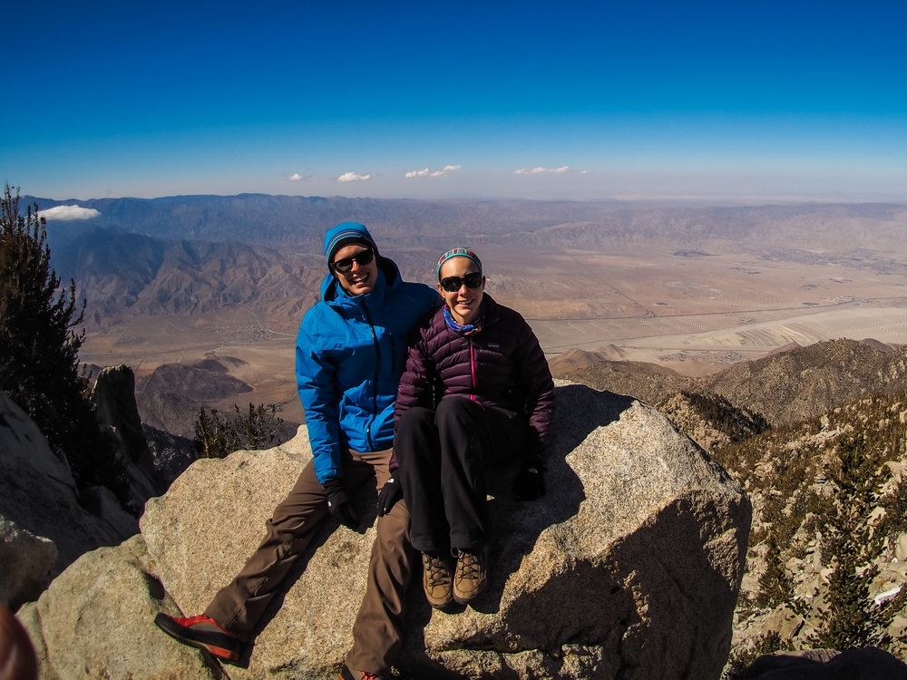 My friends, Nick and Alicia, met me on trail at Idyllwild and hiked with me up to San Jacinto Peak and camped with me for one night.