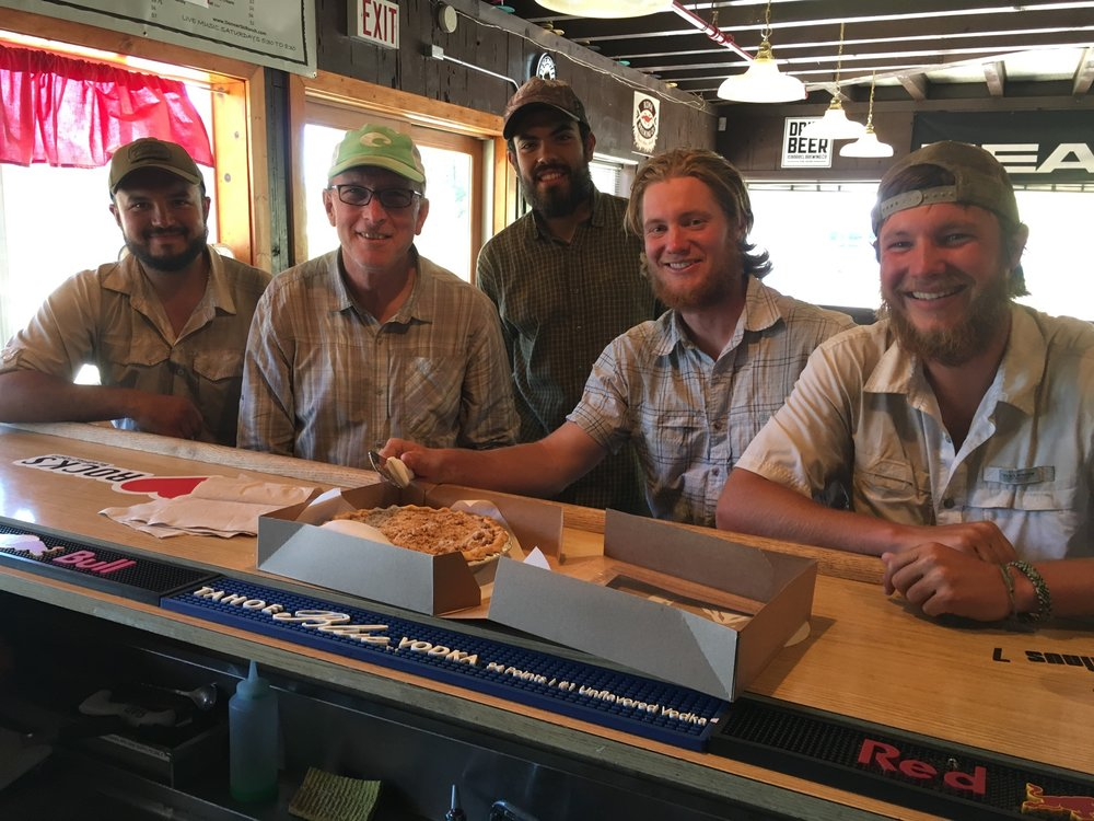 """By pure coincidence, I ran into """"Sash"""" again almost 1,000 miles later in NorCal near Truckee. He treated me and these other guys to lunch"""