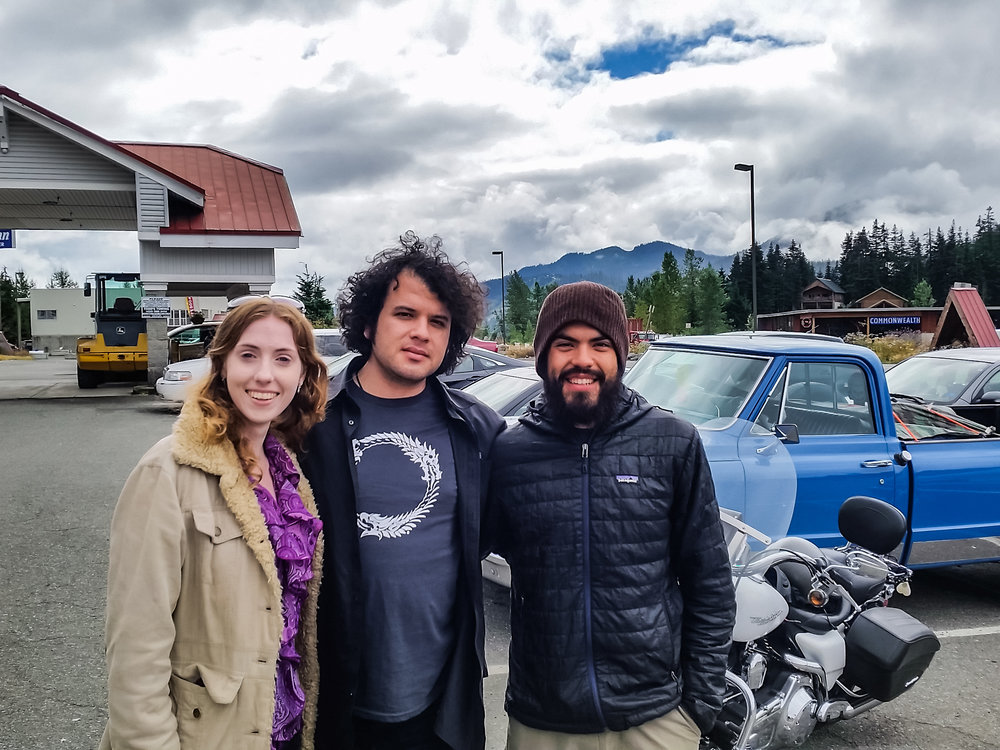 My brother and his partner May Claire who also visited me in Snoqualmie Pass