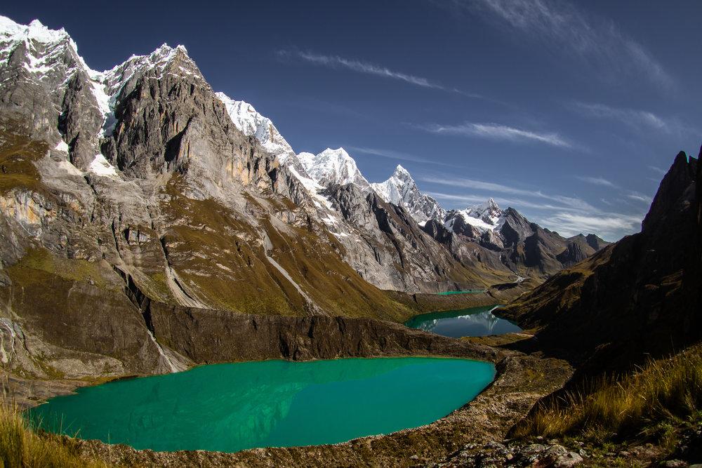 Cordillera Huayhuash -