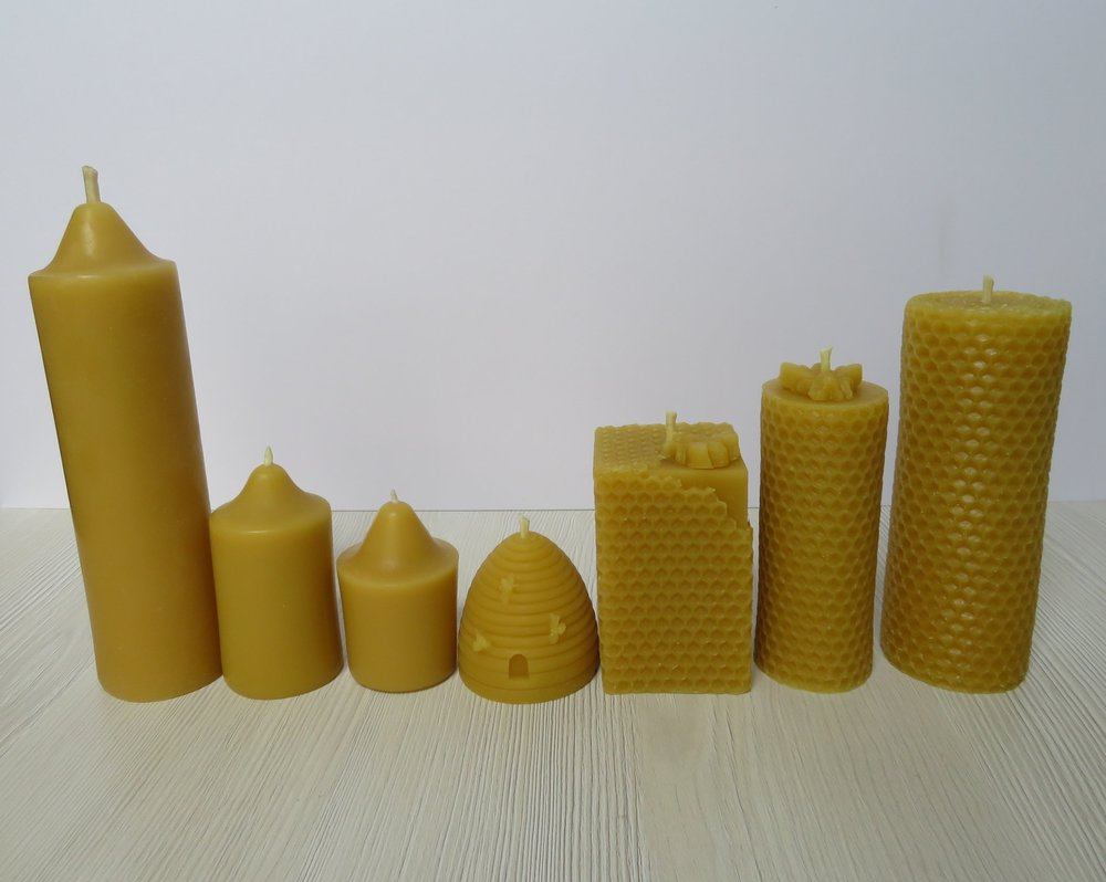 Honey Bee Candles Collection 5