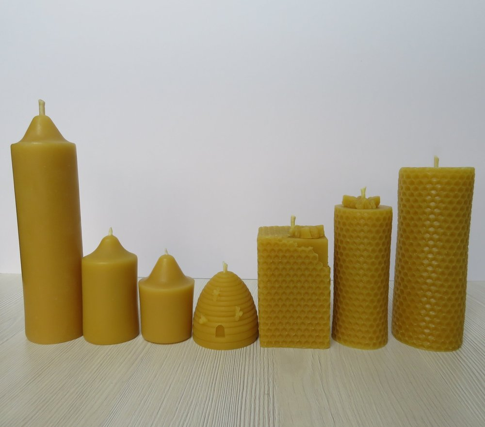 Honey Bee Candles Collection 6