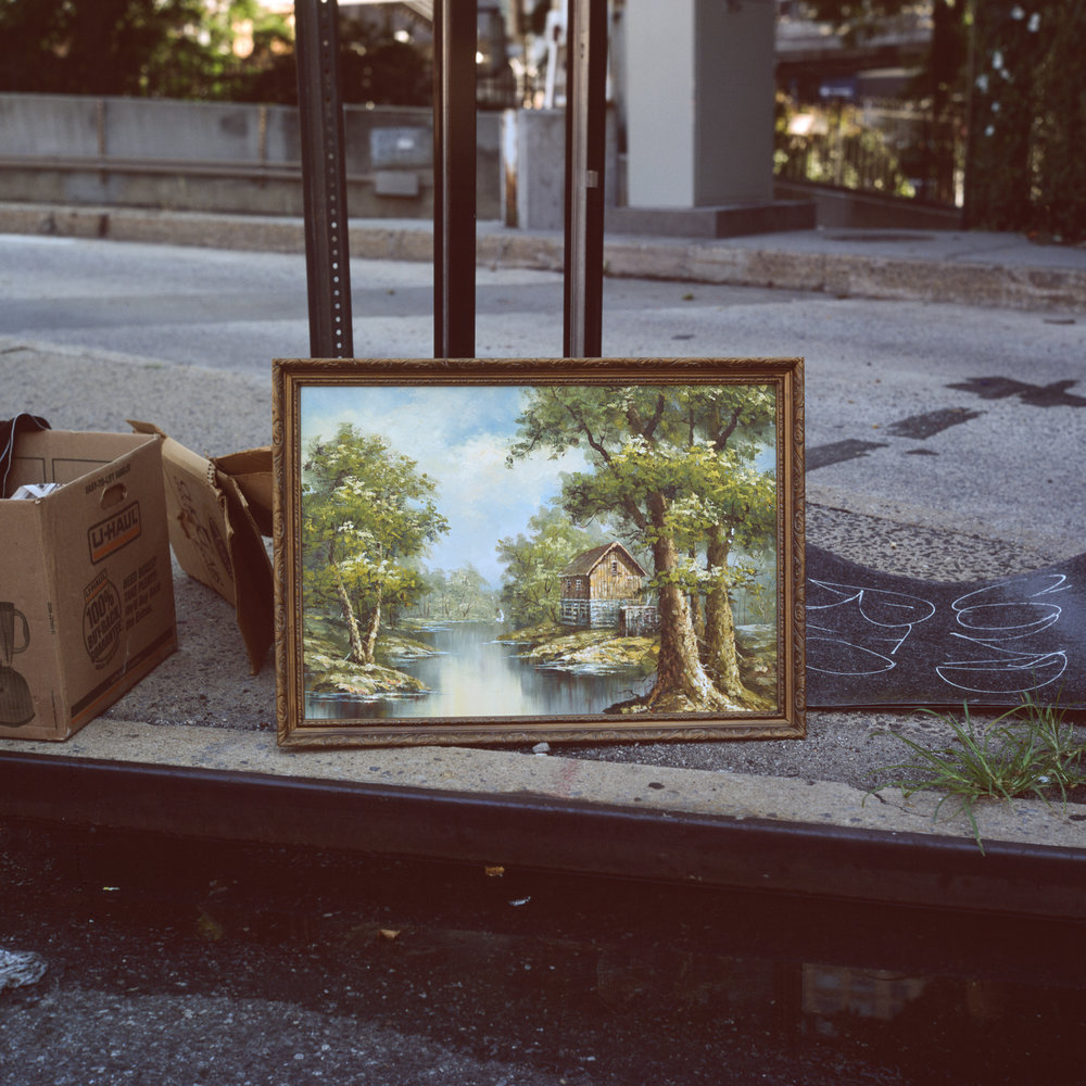 A painting on the street