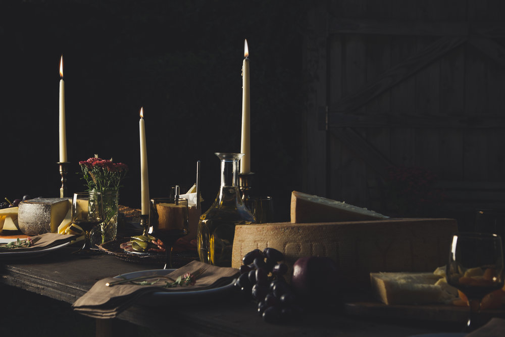 Five Tips for an Unforgettable Dinner Party - styling, photography and blog post for Emmi USA