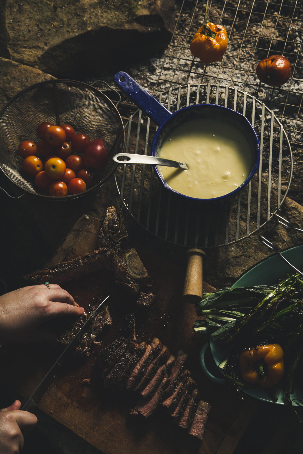 Campfire Fondue - pairing development, styling and photography for Emmi USA