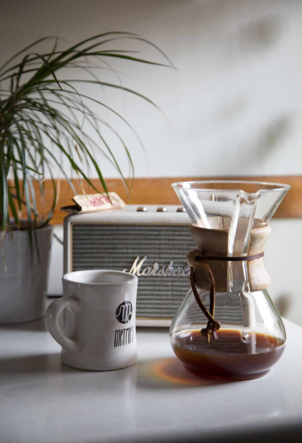 Lifestyle photography for Metric Coffee