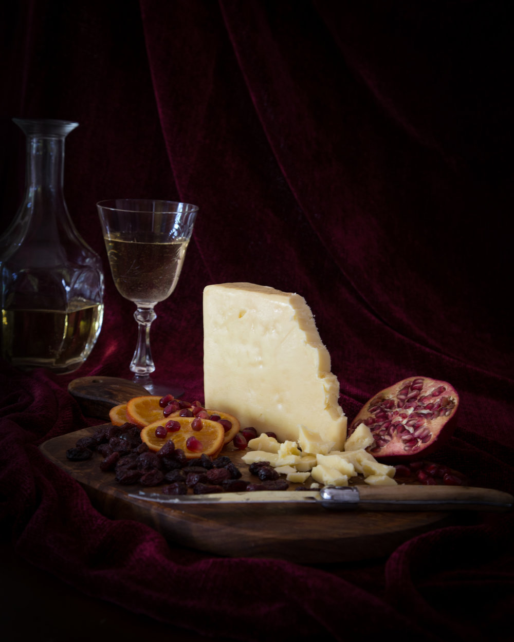 Cheese still life - styling and photography for Culture magazine