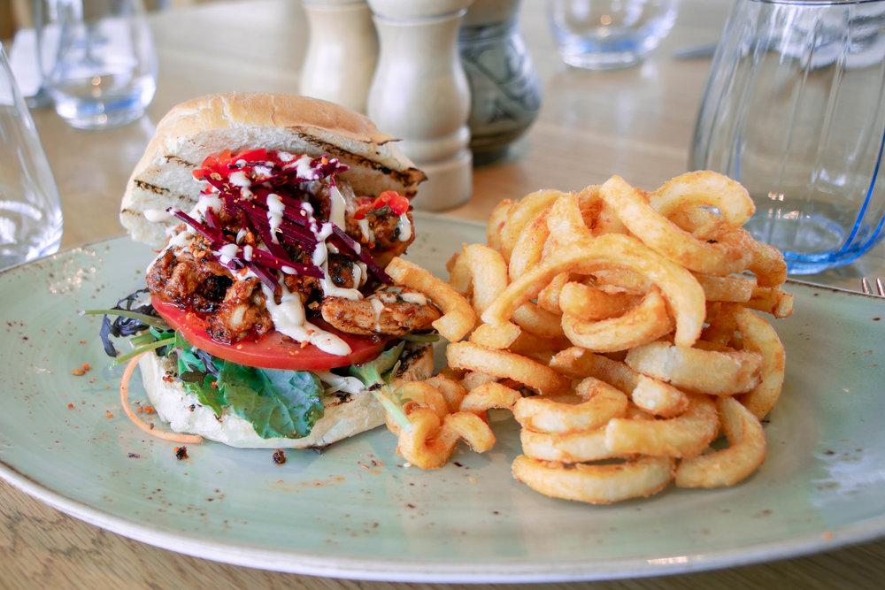 Chicken Burger -