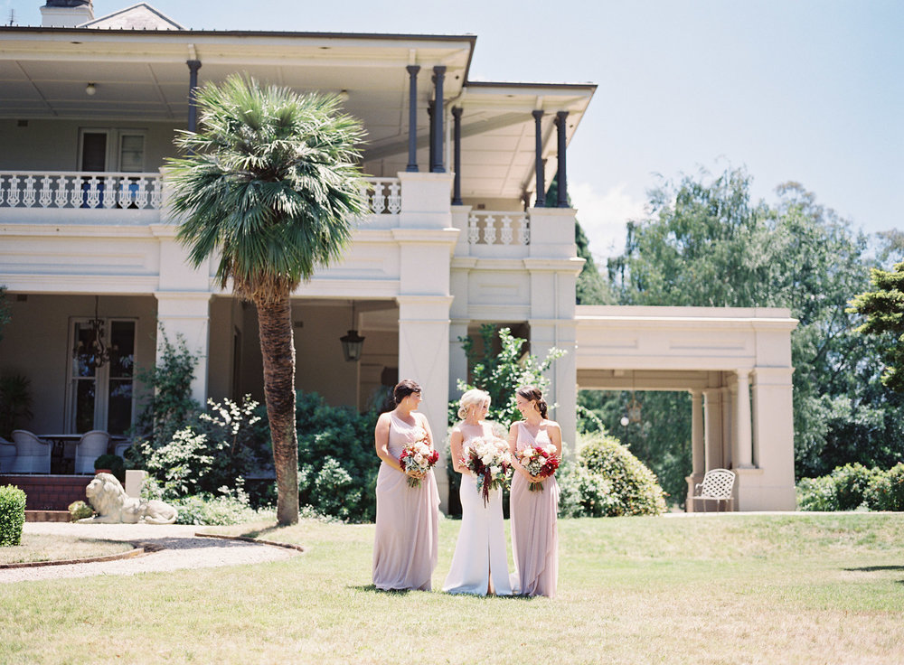 Hopewood House - Kylie & Gabriel - Wedding Day Gallery - Bowral Southern Highlands - ceremony and reception - shot 4 - Bridesmaids side of Residence and verandahs.jpeg