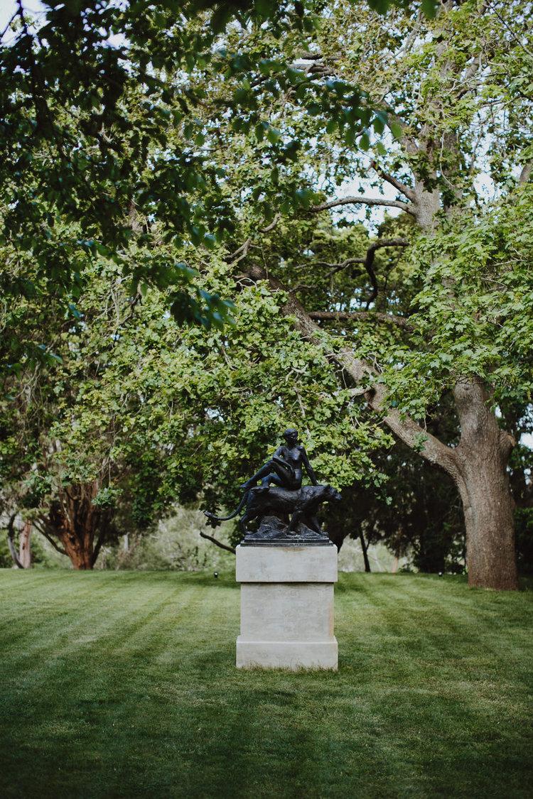 Hopewood House - Wedding Day Gallery - Courtney & Nick - Garden Sculpture.jpeg
