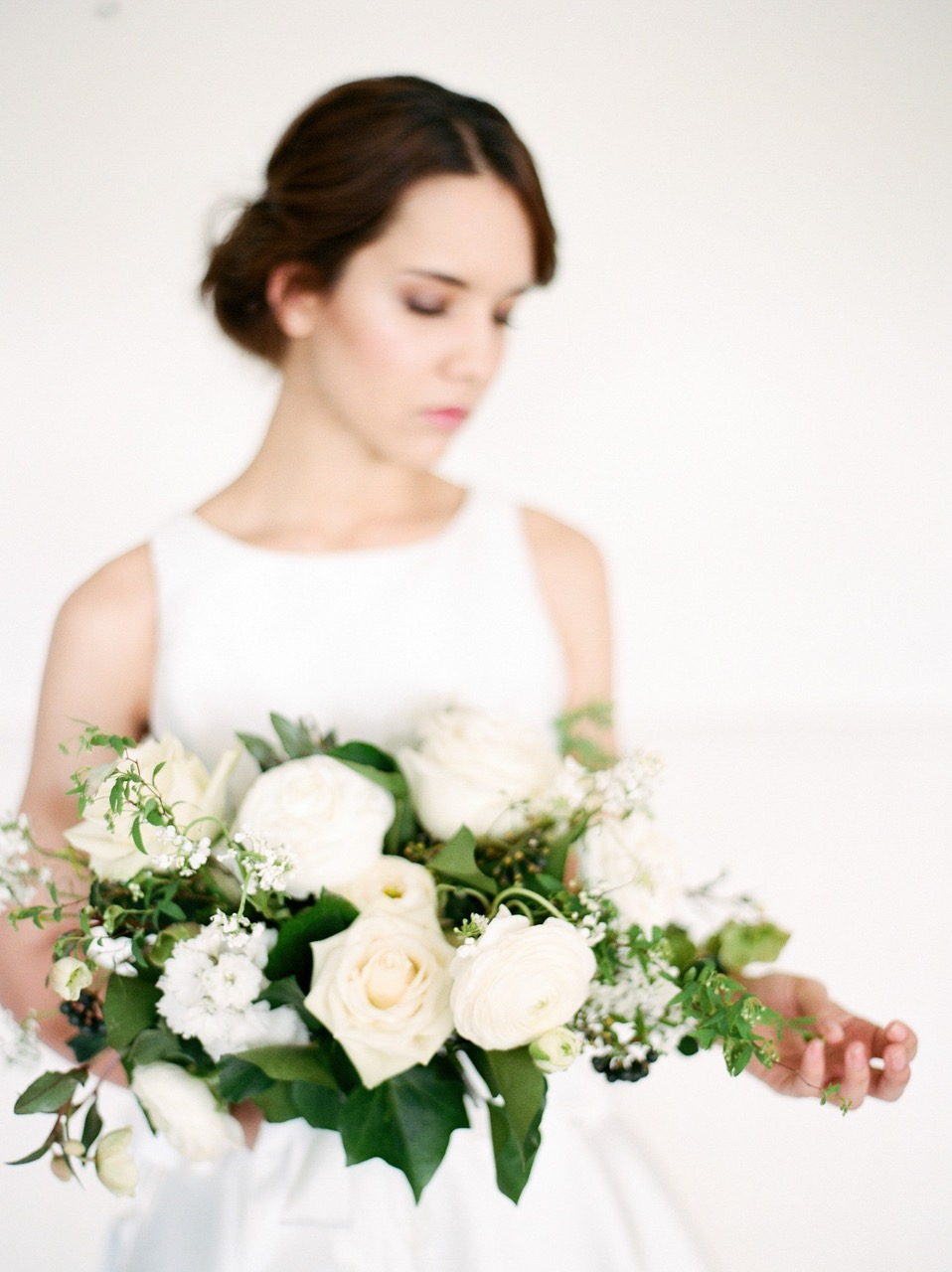 Studio Flora Co - Hopewood House - Rainy Day Weddings Shoot - Bride and Florals.jpg