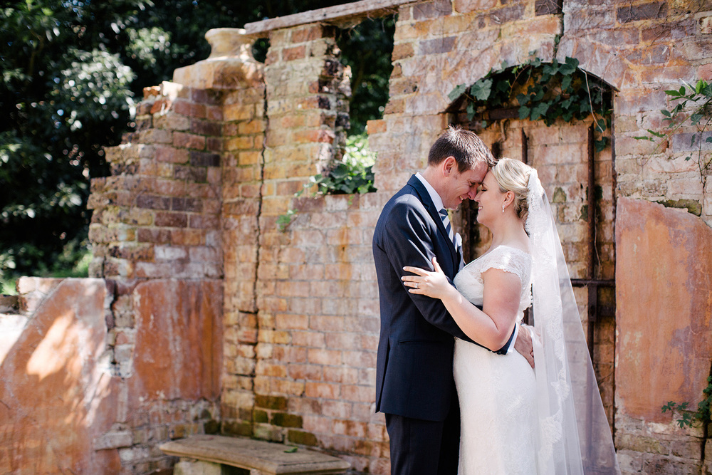 Hopewood House - Wedding Day Gallery - Lisa and Mark - At Dusk Photography - Garden Ruins.jpeg