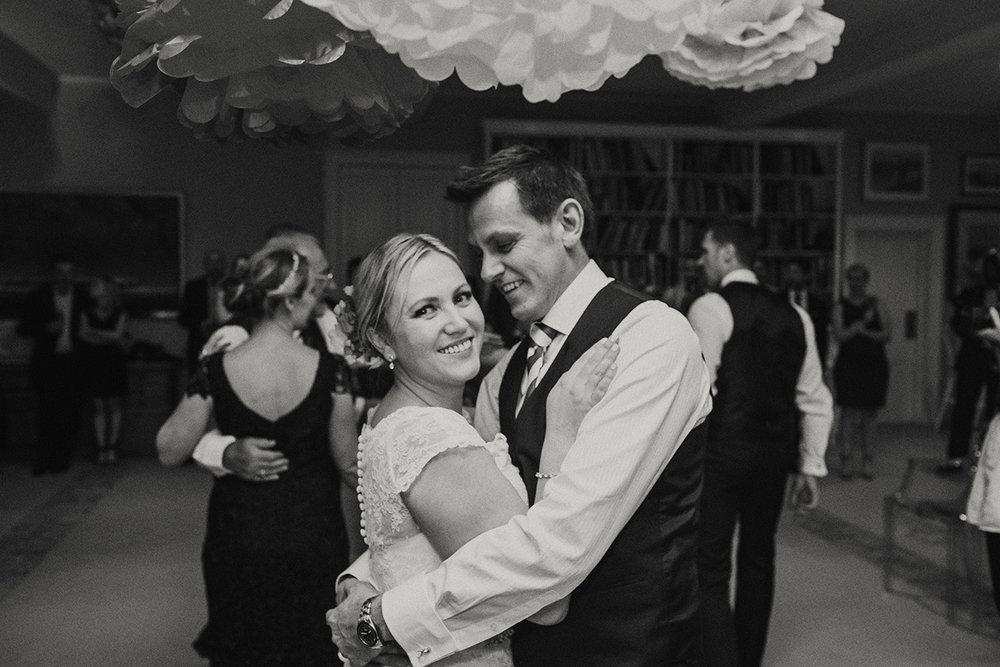 Hopewood House - Wedding Day Gallery - Lisa and Mark - At Dusk Photography - Pavilion downstairs ballroom Couple dancing.jpeg
