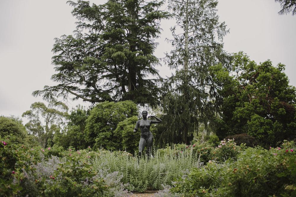 Justin Aaron Photography - Elizabeth & Damien  - Hopewood House - Wedding Gallery - The Garden Statue.jpeg