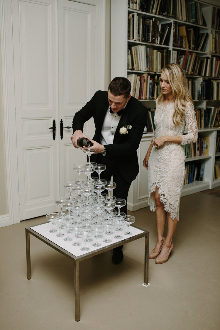 Hopewood House - Wedding Day Gallery - Heart and Colour Photography - Candice and Adam - Champagne Tower.jpeg