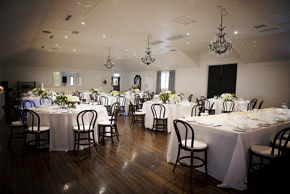 Hopewood House - Images by Sophie - Wedding Day Gallery - Alex and Damo - DiningRoom Round Tables.jpeg