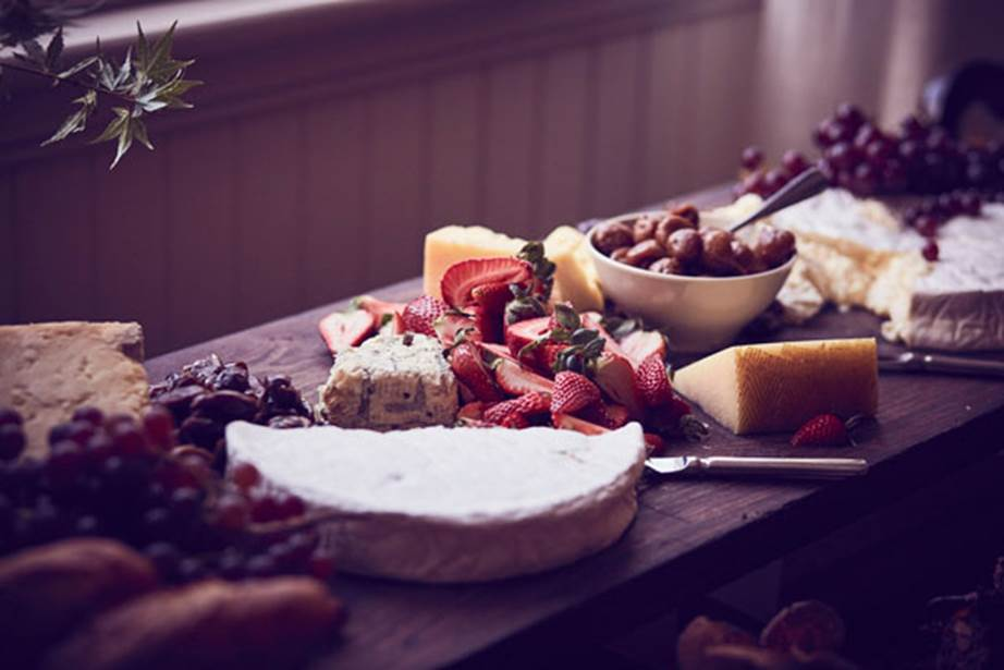 Hopewood House - Weddings  - Harpers Bazaar - Woodland Wedding in the Souther Highlands - Alyssa and Adriano - Cheese Board 2.jpg