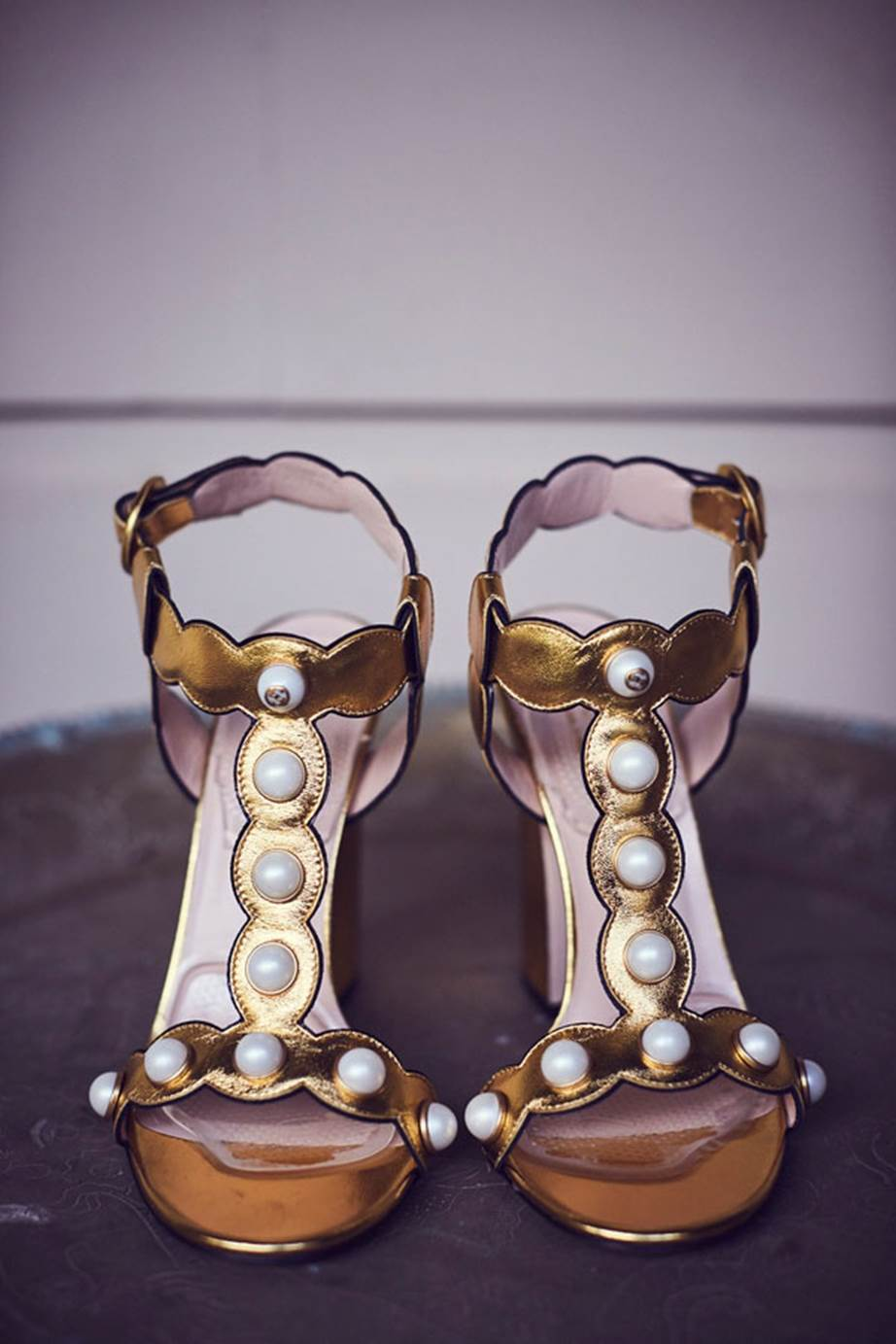 Hopewood House - Weddings  - Harpers Bazaar - Woodland Wedding in the Souther Highlands - Alyssa and Adriano - The Shoes.jpg