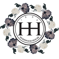 Hopewood House Logo - Roses Wreath
