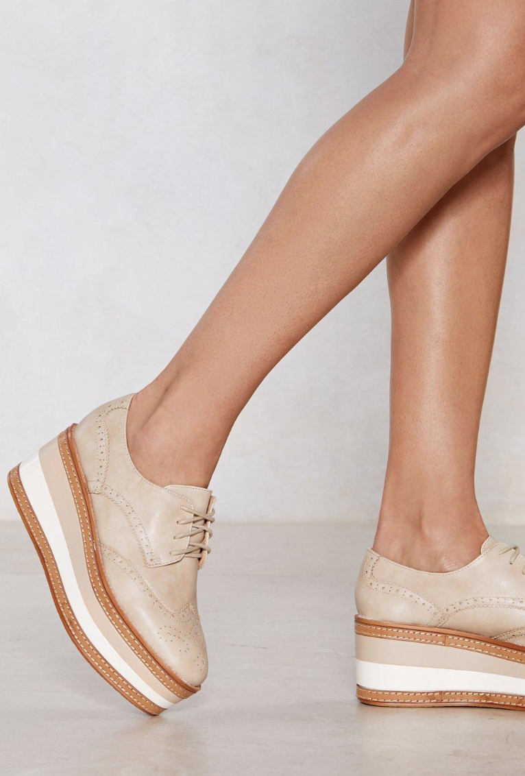Platform Brogues - THESE...I'm in love with these but they aren't in stock in my size!!! I'm going to be on the hunt until I find a pair in my size.  Also love these!