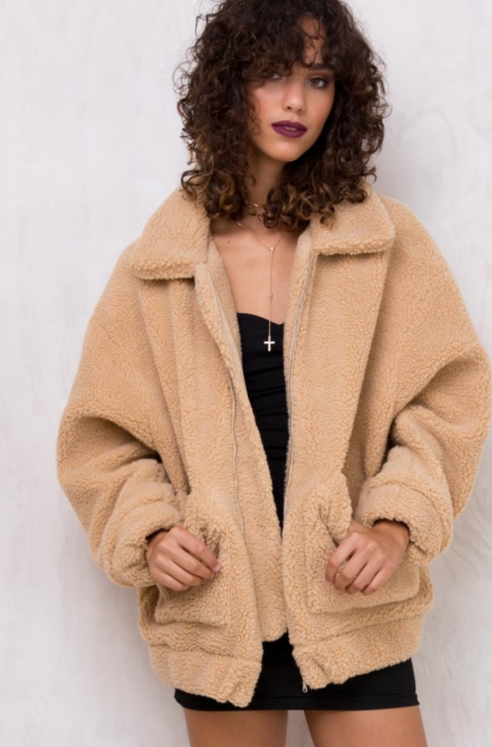 Teddy Bear Jacket - This was everywhere last fall & winter and I never got around to ordering it.  For sure picking it up this year!