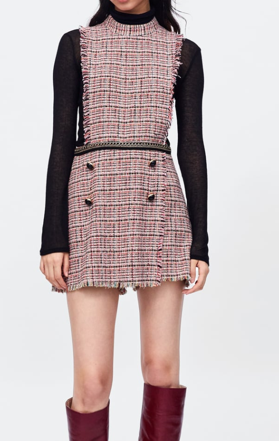 Tweed Jumpsuit - I need this in my life.  And I guess I am on a tweed kick right now.
